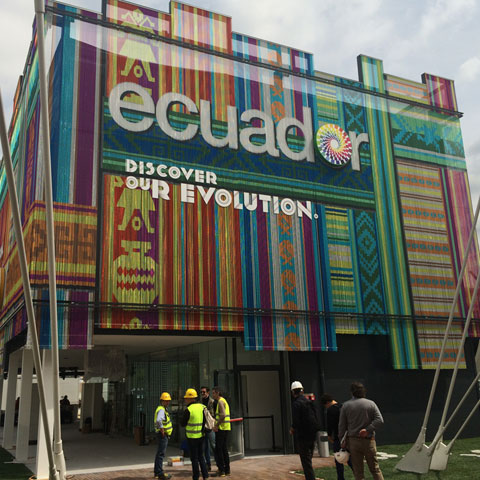 Ecuador pavilion - Expo Milano 2015 - De Luca Associati Structural Engineering